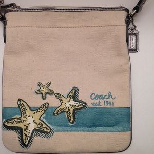 COACH SEASIDE CROSSBODY OCEAN BAG